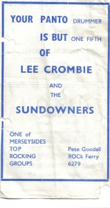lee crosbie and the sundowners