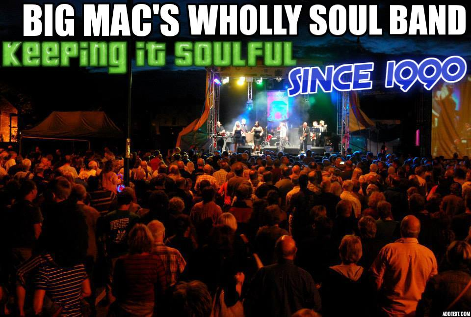 Big Mac Wholly soul band